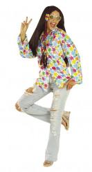 Kostume hippie hvidt til voksne