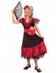 Kostume spansk inspireret pige