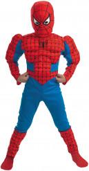 Kostume Spiderman™ med muskler drenge