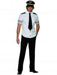Pilot-kostume herre