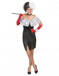Cruella- udklædning voksen