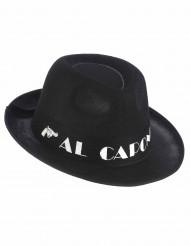 Hat borsalino Al Capone sort