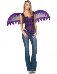 Gotisk engel lille kostume kvinde