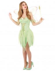 Grøn fe - udklædning voksen