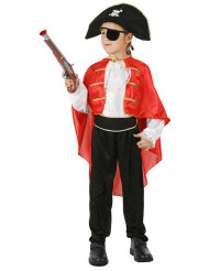 Udklædningsdragt piratkaptajn Barn