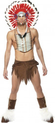 Kostume indianer Village People™ mand