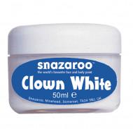 Klovnesminke hvid Snazaroo™ 50 ml
