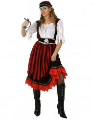 Miss Skull - Piratkostume til kvinder