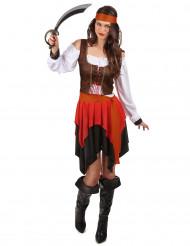 Udklædning Pirat kvinde
