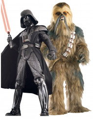 Parkostume collector Darth Vader™ og Chewbacca™ Star Wars™