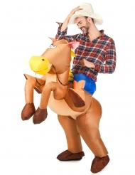 Oppustelig hestedragt Voksne