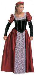 Udklædningsdragt Middelalderprinsesse Voksen