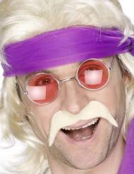 Overskæg blond 70