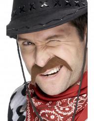Cowboy overskæg voksen