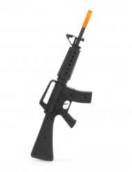 Soldatergevær M16 af plastik