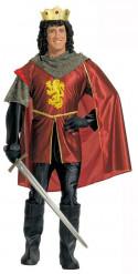 Middelalder-kongedragt mand