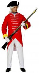 Kostume britisk soldat