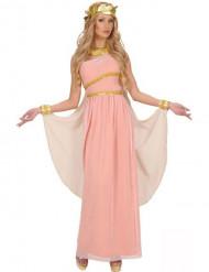Græsk gudinde kostume lyserød damestørrelse