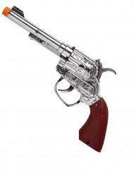 Cowboy pistol med lys af plast