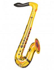 Saxofon gul oppustelig