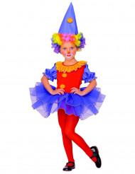Udklædning klovn ballet pige
