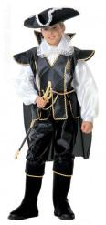 Luksuriøst piratkostume til drenge