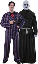 Parkostume Gomez og Fester Addams