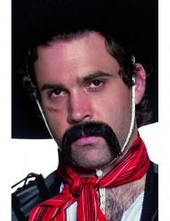 Sort overskæg vestern mexicaner voksen