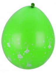 8 stk grønne balloner