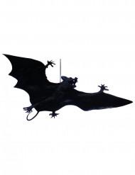 Sort Halloween flagermus der kan hænges op