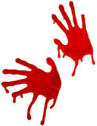 Dekoration blodige hænder