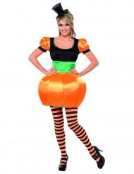 Græskarkostume kvinde Halloween