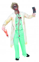 Zombiedoktor - udklædning voksen Halloween
