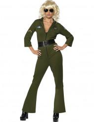 Pilot-kostume Hottie Top Gun™ kvinde