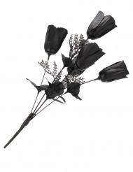 Buket af sorte roser