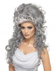 Grevinde paryk grå