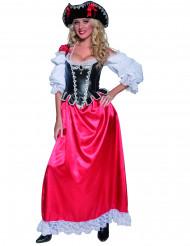 Pirat kostume luksus kvinde