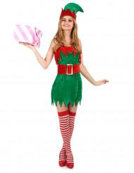 Kostume sexet julealf til kvinder