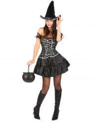 Sexet heks - udklædning voksen Halloween