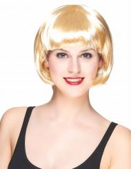 Paryk kort hår blond