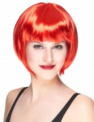 Paryk kort hår rød