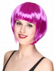 Paryk kort hår lyserød