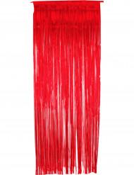 Glitrende rødt fortæppe