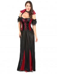Elegant vampyr - udklædning kvinde Halloween