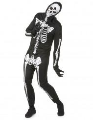 Skeletkostume halloween mand