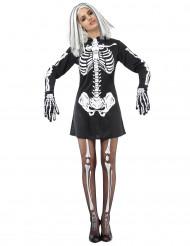Skeletdragt Damer