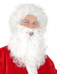 Julemandsparyk og skæg