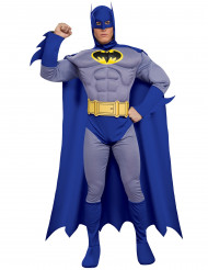 Blå deluxe Batman™ kostume til mænd