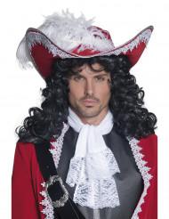 Kaptajn-hat rød voksen