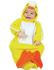 Udklædningsdragt kylling baby